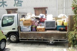 不用品の回収