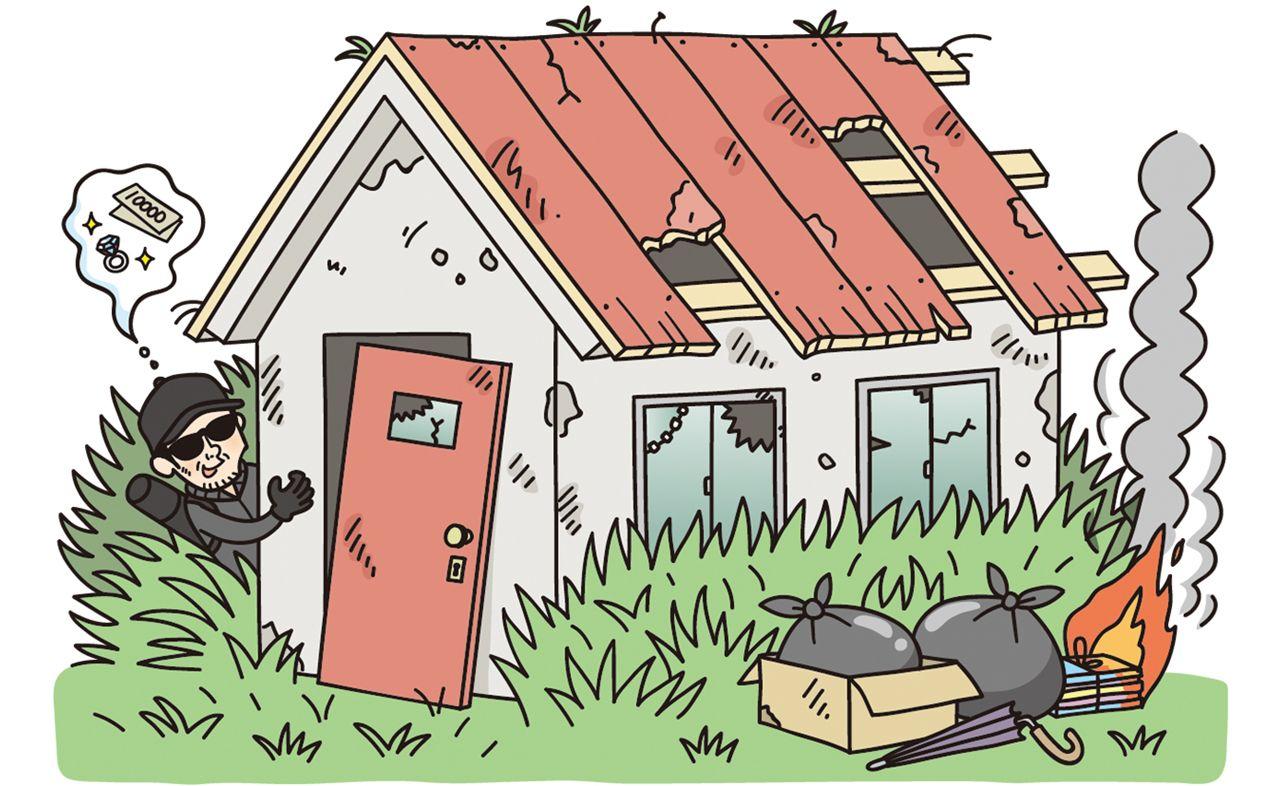 空き家問題、危険な空家